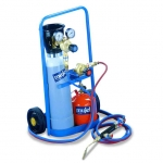 1 Attrezzatura portatile ossigeno propano