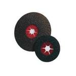 10 Dischi abrasivi flessibili in fibra