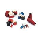 11 Manicotti abrasivi e porta manicotti