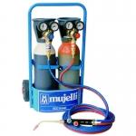 2 Attrezzatura portatile ossigeno acetilene