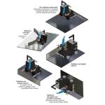 7 Carrelli movimentazione torcia senza rotaie